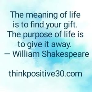 find and share your gifts